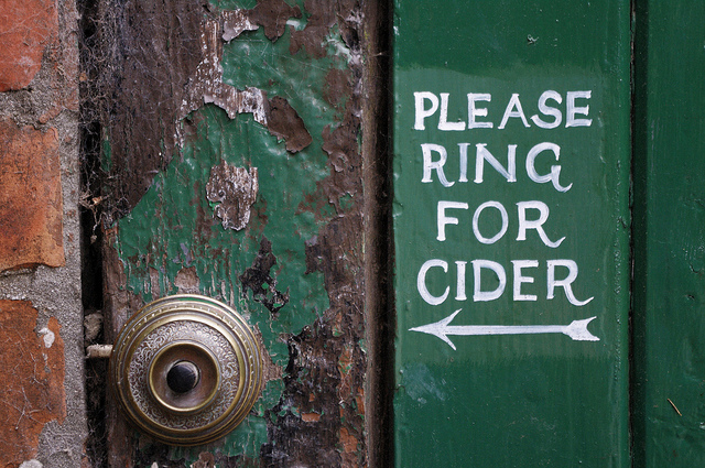 Please Ring for Cider!